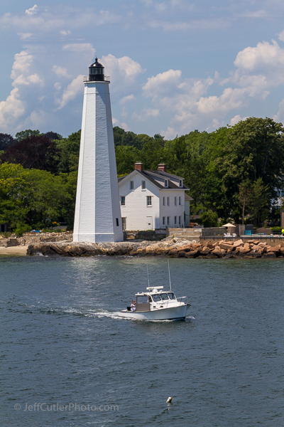 New London Harbor Light. All these are my photos - not taken from the brochure.