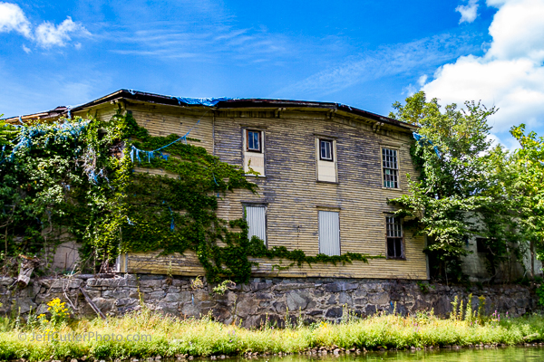 Another abandoned mill building